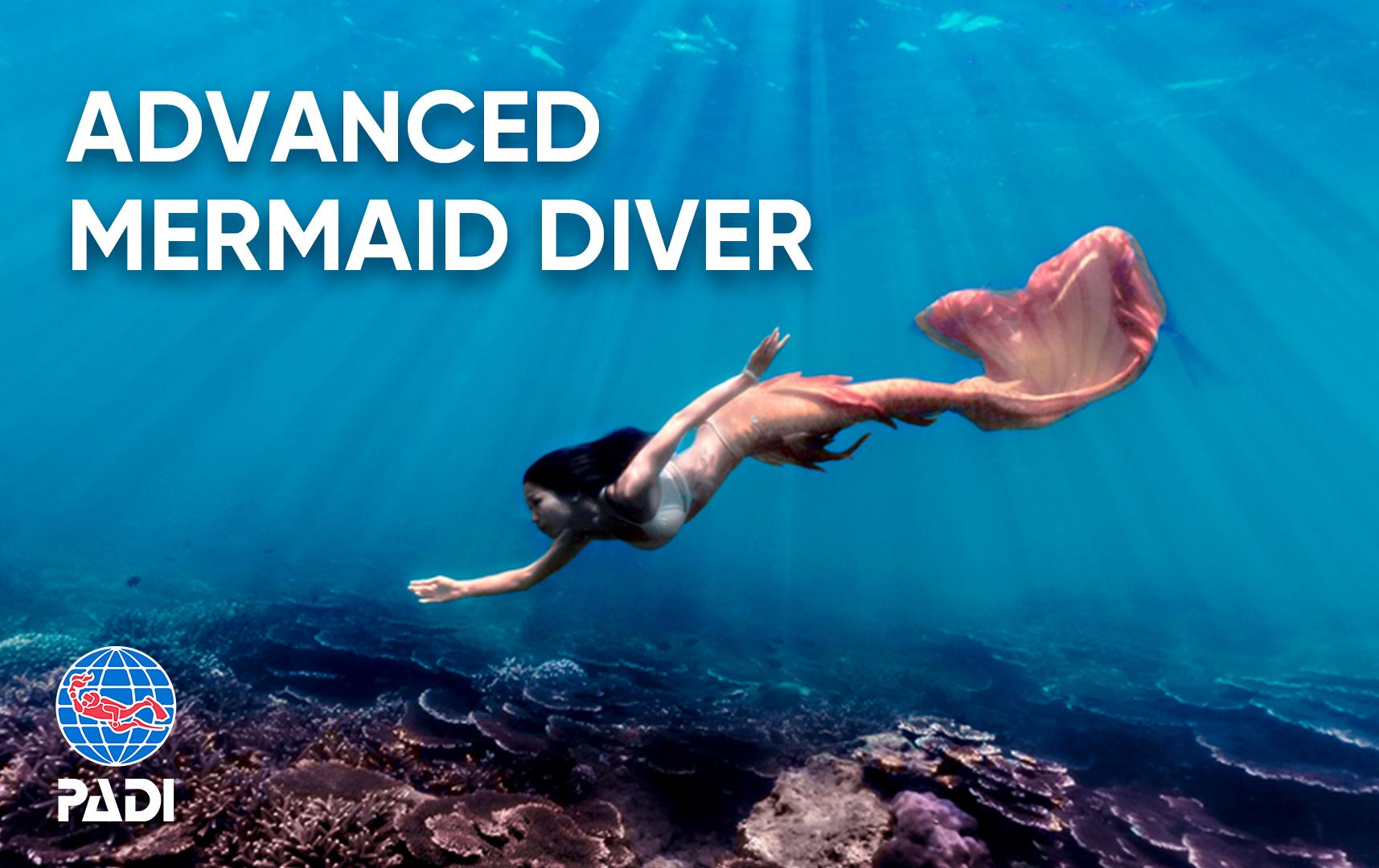 PADI Advanced Mermaid
